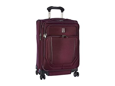 Travelpro 23 Crew Versapack Max Carry-On Expandable Spinner (Perfect Plum) Luggage