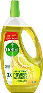 Dettol Multi Action 4 in 1 Cleaner with Lemon Scent - 1.3 Liter