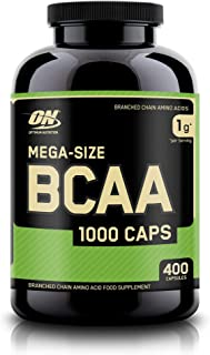 OPTIMUM NUTRITION Instantized BCAA Capsules, Keto Friendly Branched Chain Essential Amino..