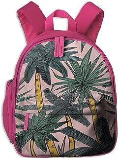 Flora Flower Personalized Book Bag Lovely Animal Kid's School Daypack Soccer Kids Kindergarten Backpacks 12.5