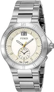 [フェンディ] 腕時計 ハイスピード シルバー文字盤 デュアルタイム F478160 並行輸入品 シルバー