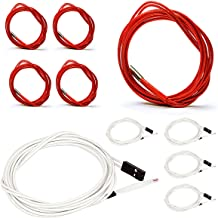 12V 40W 620 1M Ceramic Cartridge Heater and 3950 100K NTC Thermistor for 3D Printer Anet 3D Printer Parts Pack of 4pcs