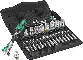 Wera Zyklop zestaw grzechotki 8100 SA 6, napęd 1/4 cala, metryczny, 28-częściowy, 05004016001