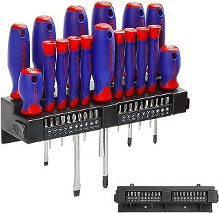 WORKPRO 37-częściowy zestaw magnetycznych śrubokrętów, uchwyt na śrubokręt, precyzyjny zestaw bitów z dwumateriałowym mięk...