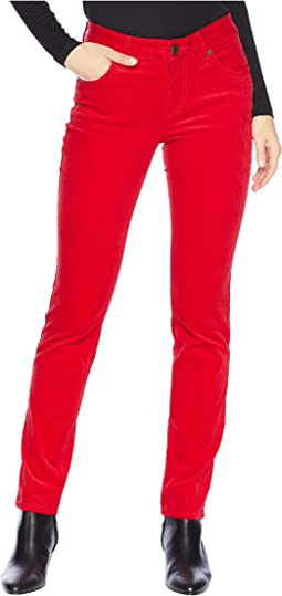Diana Skinny Jeans in Red