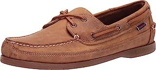 حذاء شونر بوت للرجال من سيباغو باللون البني مقاس 9.5 عرض
