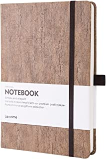 Thick Notebook - Eco-Friendly Natural Cork Hardcover Writing Notebook with Pen Loop & Premium Thick Paper + Page Dividers Gifts, A5 (5x8) Bound Notebook