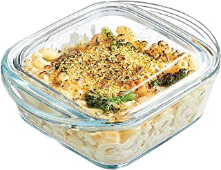 Simax Casserole Dish For Oven: Mini Glass Baking Dish With Lid – Small, Personal Sized Bakeware and Cookware - Great for S...