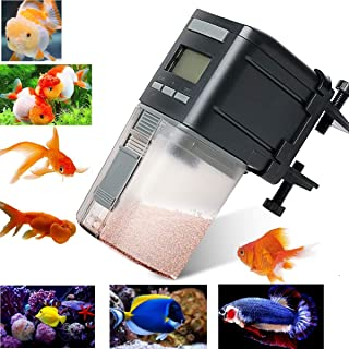 UStyle Automatic Fish Feeder,Fish Feeder for Aquarium Auto Fish Food Timer Feeder for Fish Tank Food Dispenser for Small Fish,Tropical Fish,Gold Fish