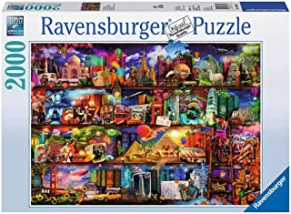 Ravensburger World of Books Puzzle 2000 Piece Jigsaw Puzzle for Adults – Softclick Technology Means Pieces Fit Together Pe...
