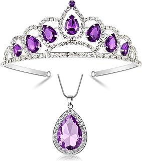 Kzslive - Set di gioielli per costume di Halloween, motivo: Principessa Sofia