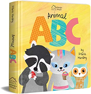 Animal ABC : Playful animals teach A to Z (Padded Board Book)