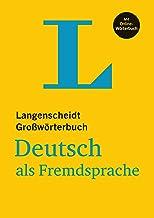 Permalink to Langenscheidt Großwörterbuch Deutsch als Fremdsprache – mit Online-Wörterbuch: Deutsch-Deutsch PDF