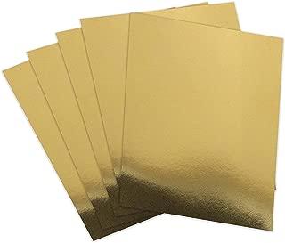 gold mirror cardstock