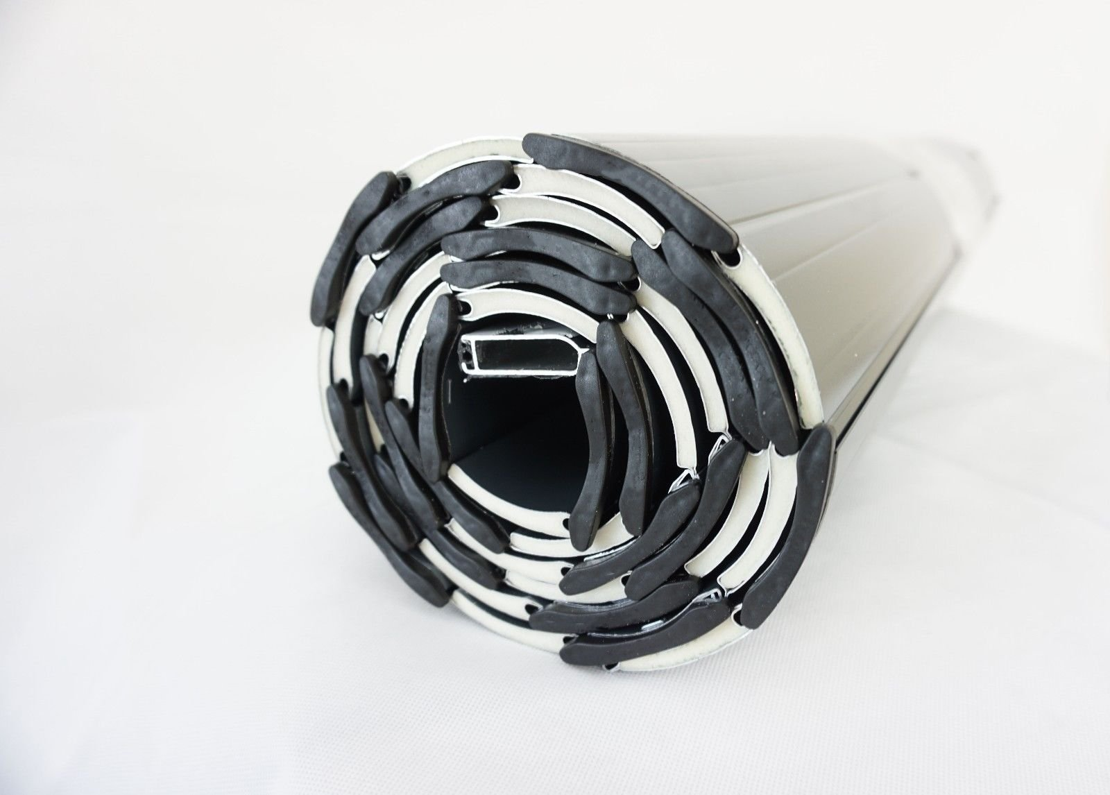 Aluminio persiana tanque rollwin Perfil 37 Color Blanco Ancho 750 – 2800 mm Altura 1,5 m aluminio adornos a escala: Amazon.es: Bricolaje y herramientas