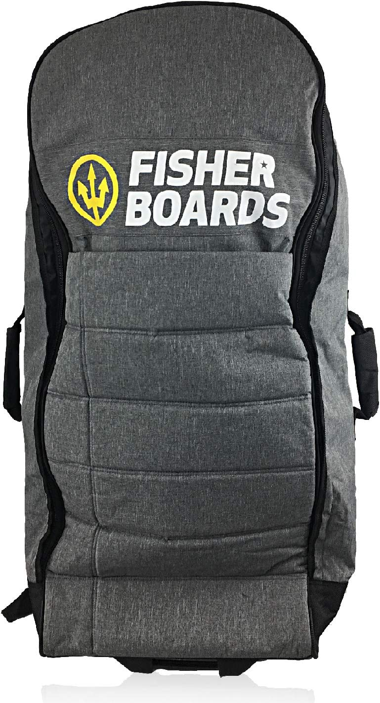 Fisher Boards Rolling Duffle Travel bod not 39