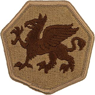 108th Infantry Division Patch Desert