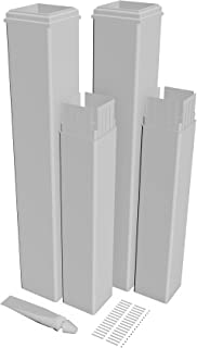 New England Arbors VA80352 Vinyl pergola Extension kit, White