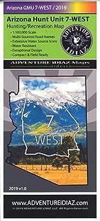 Arizona Hunt Unit 7-WEST Hunting/Recreation Map