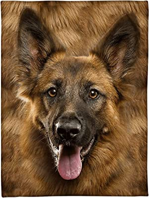 Sheepdogs Brown Dogs 60\u201d Dog Collage Painted Fleece German Shepards 60\u201d only