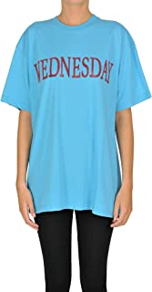 Alberta Ferretti Luxury Fashion Womens MCGLTPS0000C7103E Light Blue T-Shirt | Season Outlet