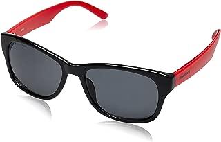 Fastrack Wayfarer Unisex Sunglasses (PC001BK5|54|Grey)