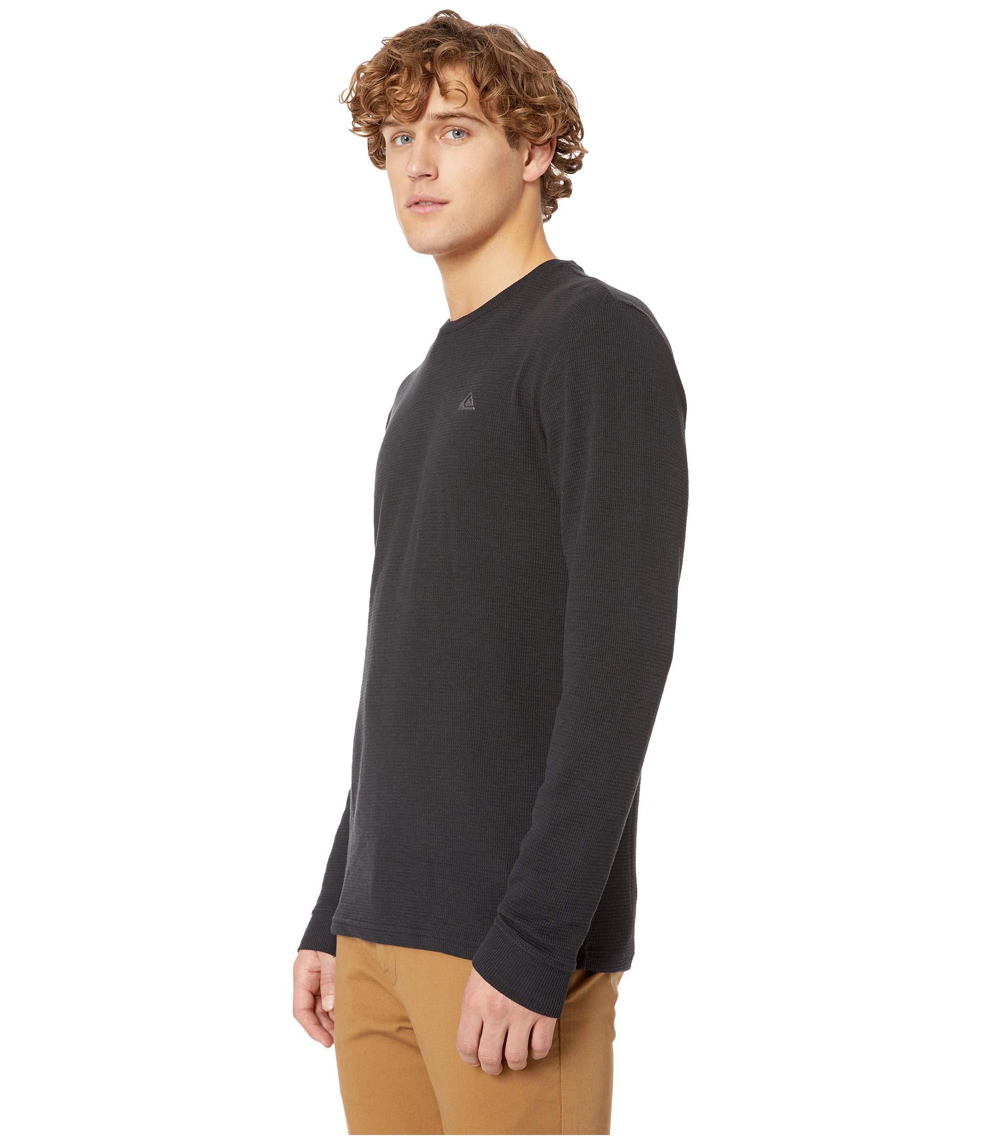 Sleeve Long Stitch Comp Black Quiksilver wPE5tqY