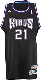 adidas Vlade Divac Sacramento Kings NBA Throwback Swingman Jersey - Black