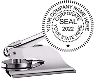 Silver Pocket Corporate Seal