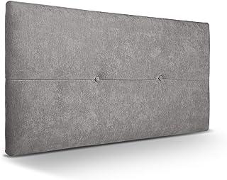 SUENOSZZZ - Cabecero de Madera Jazmin, tapizado Acolchado,