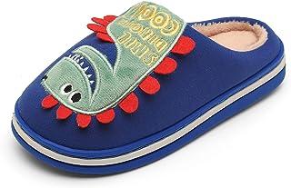 CELANDA Zapatillas Invierno Niños Niñas Zapatillas Interior Casa Caliente Zapatos Suave Algodón Antideslizantes Pantuflas,...