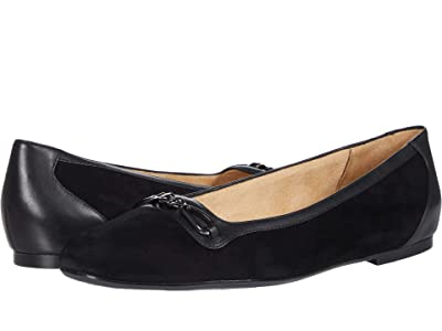 Naturalizer Parker (Black Suede/Leather) Women