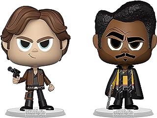 Han So lo & Lando Calrissian: Fun ko Vynl - Figura decorativa de vinilo con 1 protector compatible (31849 - B)
