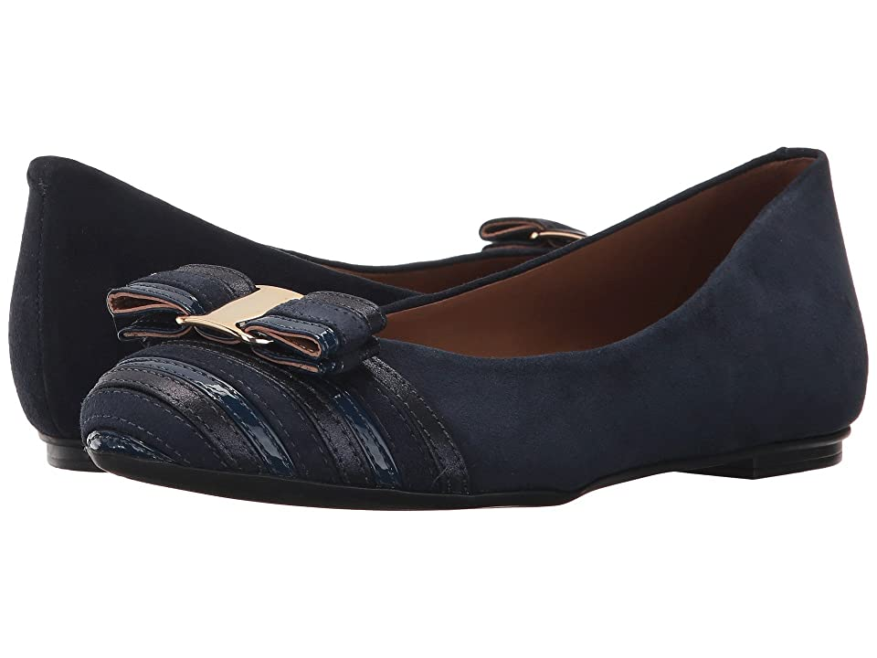 French Sole Yacht Flat (Navy Multi) Women