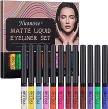 Lápiz Delineador Líquido Mate, Eyeliner Waterproof, Delineador de Ojos Waterproof, Delineador de Ojos de Color, Colorido L...