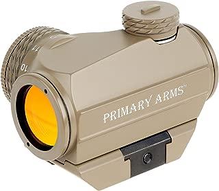 Primary Arms SLxZ Advanced Rotary Knob Microdot Red Dot Sight - FDE
