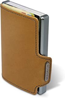 "Mondraghi® - Cartera The Original | Protección RFID integrada en el clip para billetes ""Stop and Go"" 