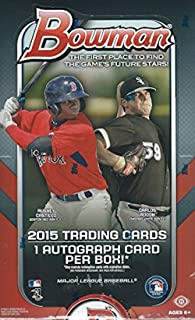 2015 bowman baseball box