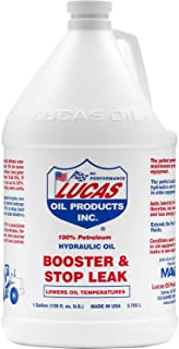 LUCAS 10018 Brown Hydraulic Oil and Stop Leak, 3.79 ml