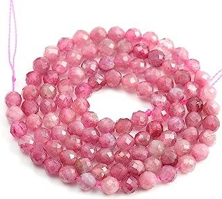 Pink Tourmaline Smooth Plain Pear Shape Pink Tourmaline Smooth Plain Peardrop Beads Pink Tourmaline Plain Beads Size 6-7 mm 4 Strand 11237