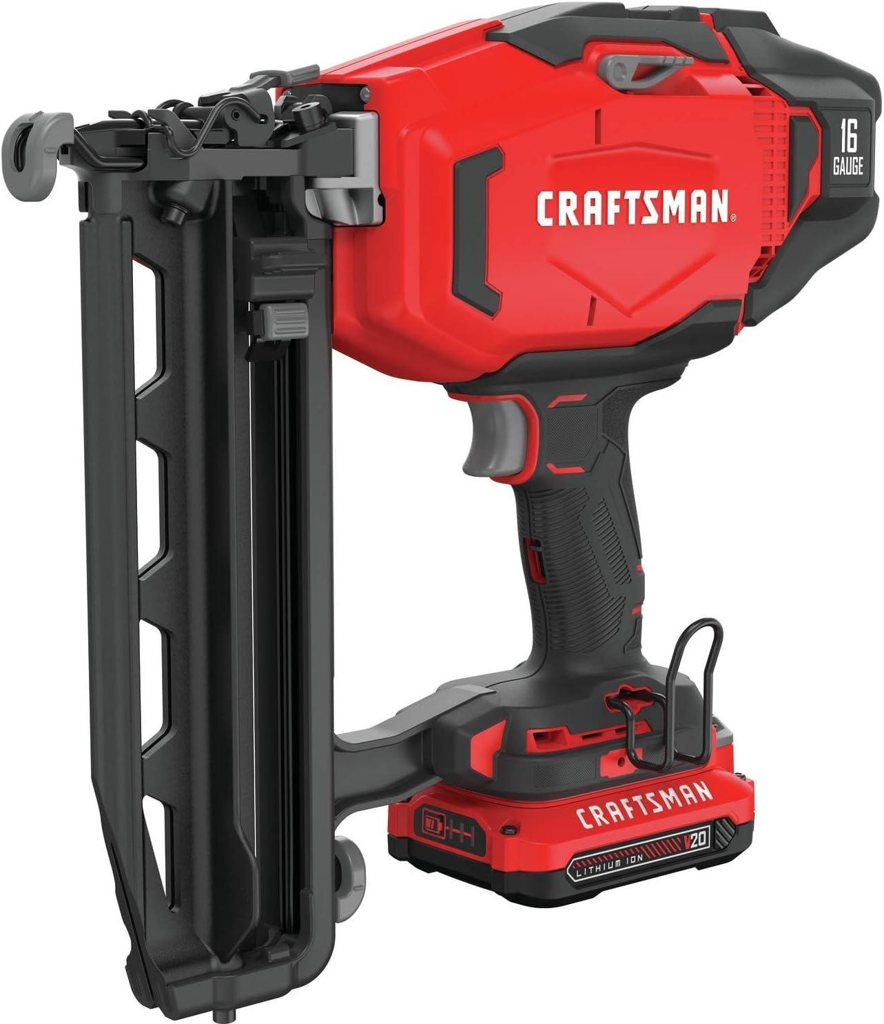 CRAFTSMAN CMCN616C1 Cordless Finish Nailer Kit