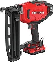 CRAFTSMAN V20 Cordless Finish Nailer Kit, 16GA (CMCN616C1)