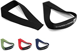 Gymreapers Olympic Lifting Straps for Weightlifting, Snatch, Clean, Powerlifting, Strongman, Deadlifts - Durable Cotton wi...