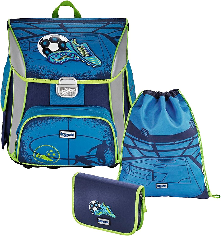 borsagymax Satchel Set (Set of 3) Simy Soccer blu Blu