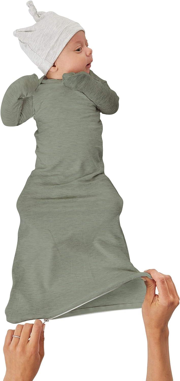 GUNAMUNA Unisex Baby gunaGOWN Sleeper Gown with Diaper-Zipper