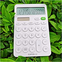 $41 » Calculator Calculator, 12-Digit Office Calculator with Large LCD Display Big Sensitive Button,Buttons Battery and Solar Po...