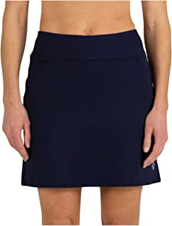 Jofit Apparel Women's Athletic Clothing Long Mina Skort for Golf & Tennis, Midnight