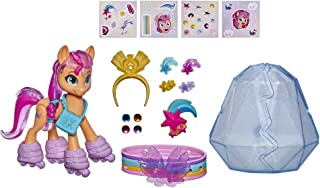 My Little Pony: A New Generation MovieCrystal Adventure SunnyStarscout- 3-Inch Orange Pony Toy, Surprise Accessories, B...