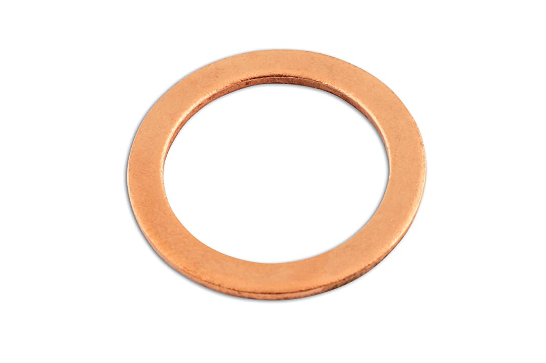 CONNECT - 31839 COPPER SEALING WASHER M18 X 24 X 1.5MM PK 100