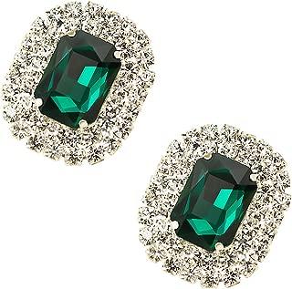 Ms. Crystal Gemstone Detachable Shoe Clutch Clutch Wedding Party Apparel Accessories